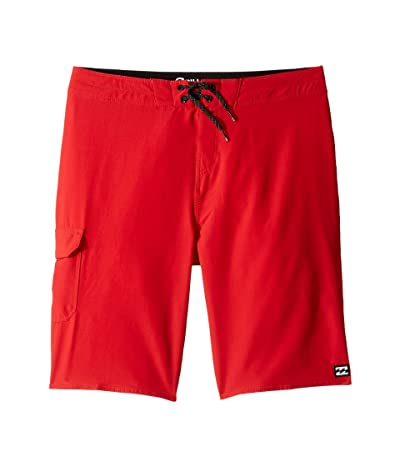Billabong Kids All Day Pro Boardshorts (Big Kids) (Lifeguard Red) Boy