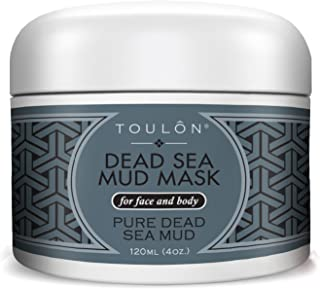 Best Mud Mask - Dead Sea Face Mask; Exfoliating Facial Mask with Minerals, Blackhead Remover Acne Treatment. Sensitive Scrub. Black Mud for Men, Women and Kids