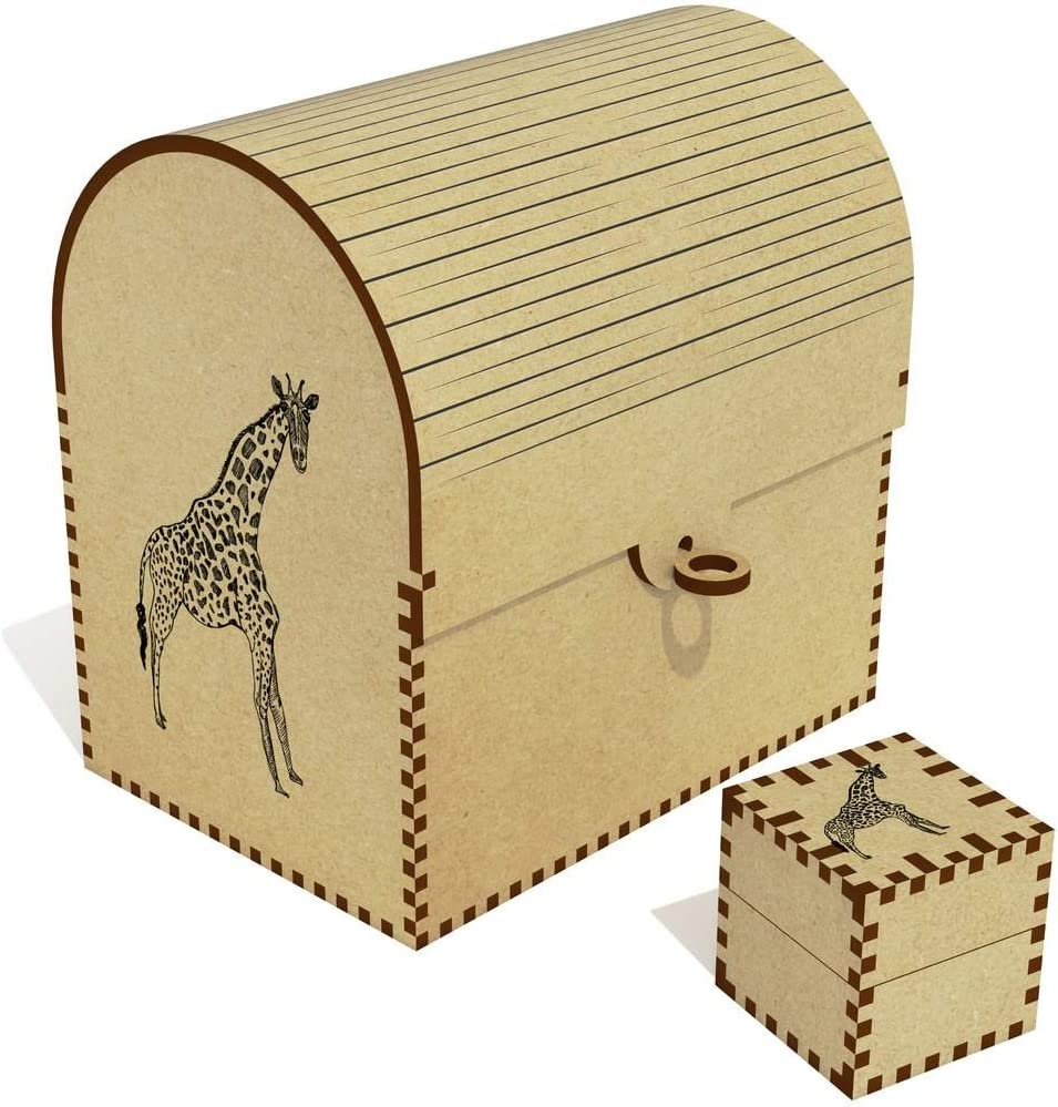 Houston Mall Azeeda Fashion 'Giraffe' Treasure Chest Box TC00015483 Jewellery