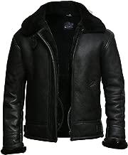 shearling aviator coat mens