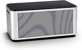 OREI Diamond Enhanced Bass NFC Bluetooth 4.0 Wireless Speaker, Powerful Sound, Built in Mic, Aluminum Body, Touch Panel & ... photo