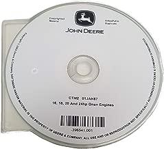 John Deere 16/18/20/24hp Onan Engines Component Technical Manual CD - CTM2CD