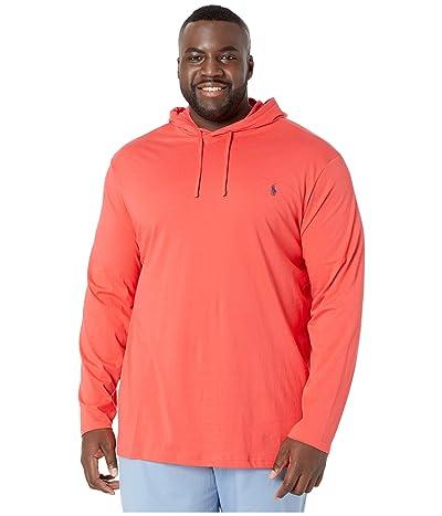 Polo Ralph Lauren Big & Tall Big Tall Hooded T-Shirt (Racing Red) Men