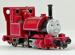 Bachmann Thomas and Friends-Narrow Gauge Skarloey-Runs on N Scale Track Steam Locomotive, Prototypical Maroon