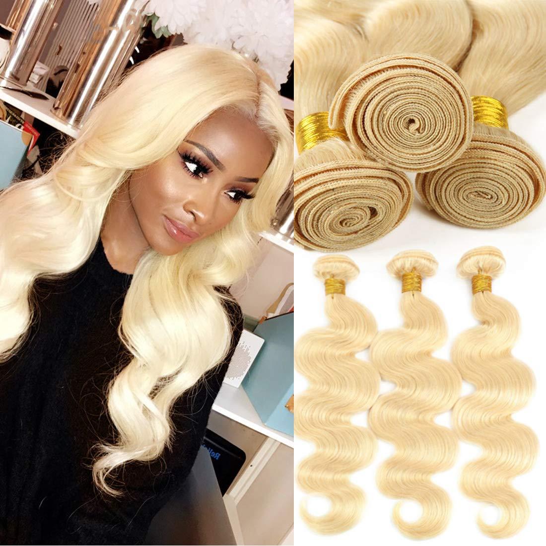 Jolibabe 613 Blonde Virgin Hair 3 Wave Body Bundles Fixed price for sale Brazilian List price Vi