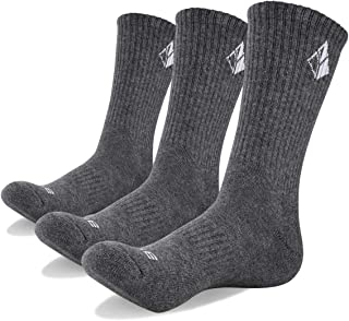 8ce88fa8911d YUEDGE 3 Pairs Men's Walking Socks Cushion Breathable Trekking Socks  Outdoor Winter Thermal Warm Socks
