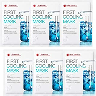 Cell Fusion C Post α First Cooling Hydrogel Mask (6-sheet)