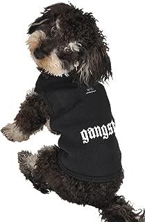 Ruff Ruff and Meow Dog Tank Top, Gangsta, Black, Small