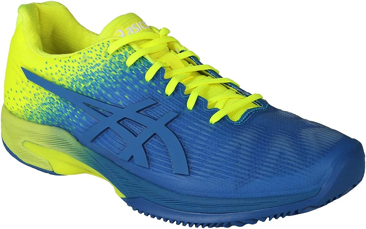 Asics Solution Speed Ff L.E. Clay - imperial flash Gelb, Gre 10