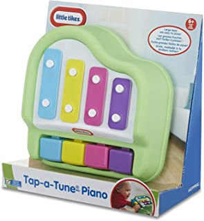 Little Tikes Tap-A-Tune Piano Baby Toy, Green, Toys for Kids, 1 Year & Above, Musical Instrument, Kids Learning Toys