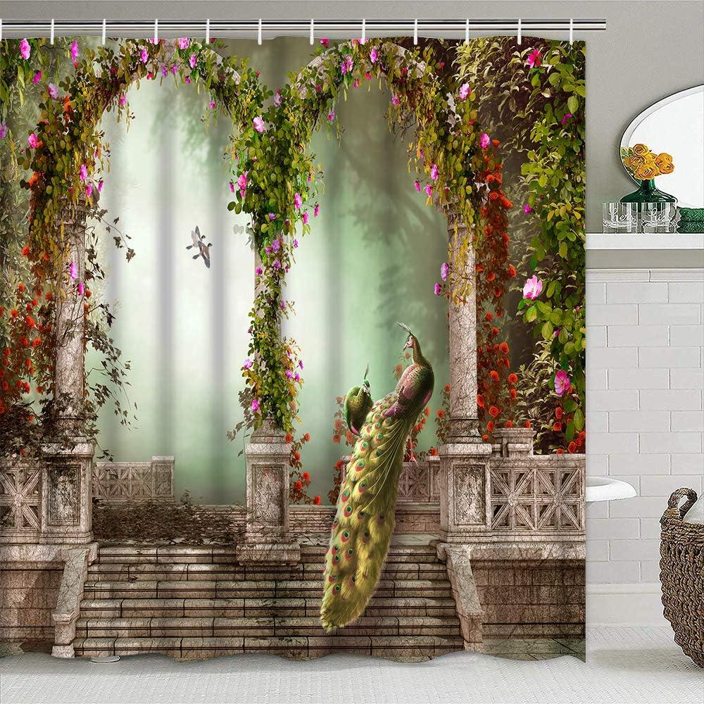 Manufacturer OFFicial shop YANHI Shower Curtain Bathroom Cur Washable Fabric online shop