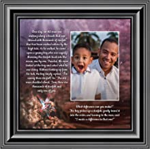 Crossroads Home Décor The Starfish Story, Legend of The Starfish, Thank You or Appreciation Gift for Your Pastor or Teacher, You Can Make a Difference Poem, 10x10 6399B