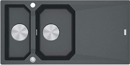 Franke FXG 661 grafiet - 114.0512.425 granieten spoelbak Excenterbediening