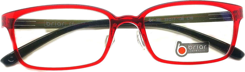 Brial Prescription Eye Glasses Frame Ultem Super Light, Flexible Br 301 C10