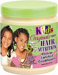 بلسم أفريكاس بيست كيدز أوريغ للتغذية للشعر بسعة 15 أونصة (443 مل) (عبوة من قطعتين)