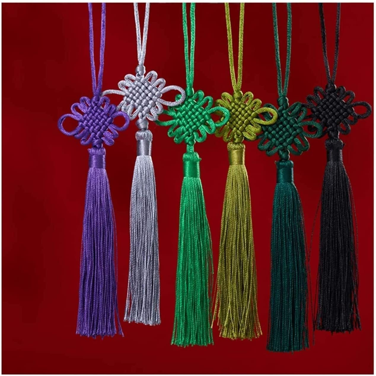 Luxury goods GAXQFEI Max 54% OFF Small Pendant Car Chinese Home Decoration Knot H