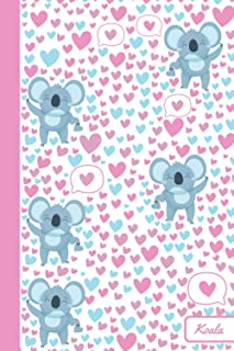 Koala: Notebook | Cute, Funny Diary | (Koala Lovers) Journal | 6x9 | 110 Pages | Blank Lined Journal For Gift