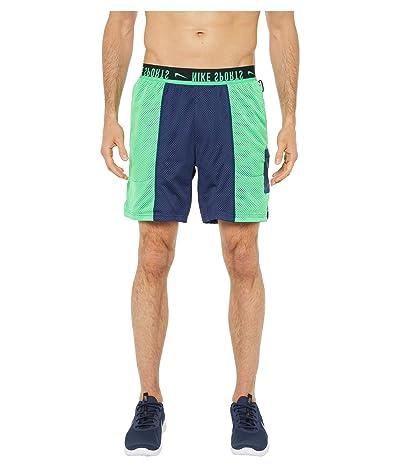 Nike Shorts Sport Clash (Midnight Navy/Green Spark/Bright Spruce) Men