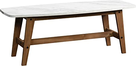 solid oak and glass coffee tables