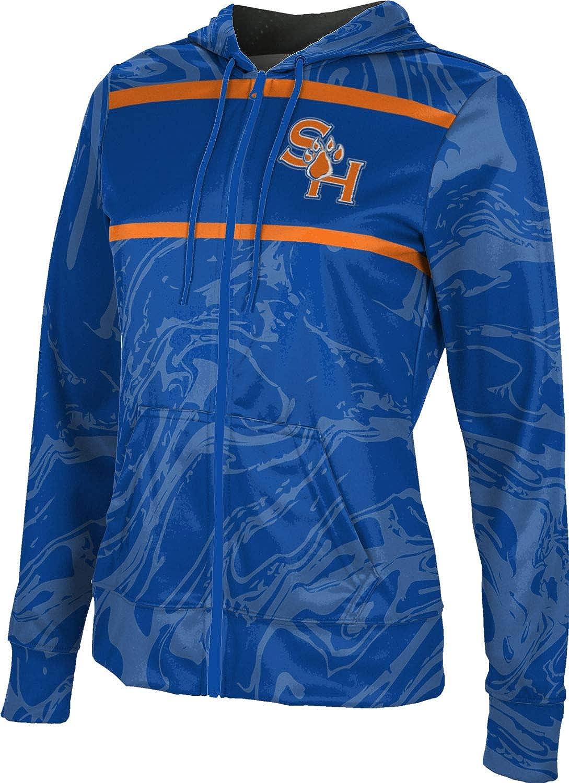 Sam Houston State University Girls' Zipper Hoodie, School Spirit Sweatshirt (Ripple)