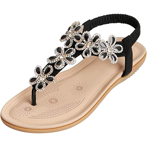 199acdcad SANMIO Women Summer Flat Sandals Shoes
