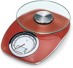 Soehnle Vintage Style Digital Kitchen Scale, Red