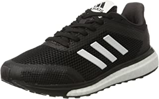 adidas Performance Womens Response+ Sports Active Running Trainers Shoes - Black