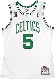 Mitchell & Ness Kevin Garnett 2007-08 Boston Celtics Authentic Finals Jersey White