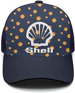 GuLuo Shell-Gasoline-Gas-Station-Near-me- Mesh Baseball Cap Novelty Adjustable Fits Snapback Hat
