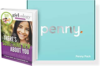 The Penny Pack, The only First Period kit Designed by Pediatricians, with Puberty Books, Apple and Android apps, 100% Organic Period Supplies, and Much More