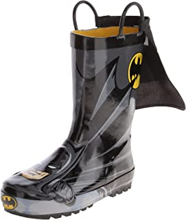 Western Chief Kids' Waterproof D.c. Comics Character Rain Boots with Easy on Handles