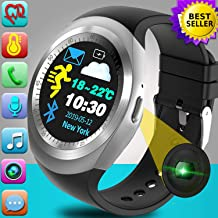 [2020 New]Smart Watch-Touchscreen Smartwatch for Android iOS Phones Activity Fitness Tracker with Heart Rate Blood Pressure Monitor Sport Watch Pedometer Calorie Men Women Xmas Holiday Birthday Gift