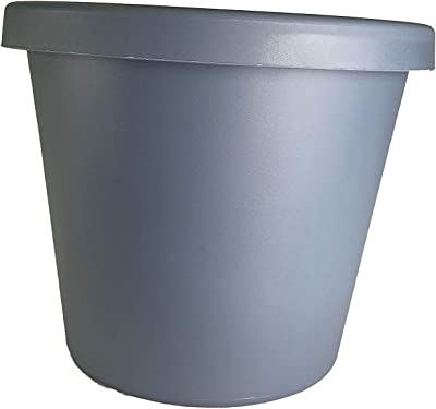 "The HC Companies LIA24000DE2C006LRCLE Classic Pot Planter, 24"", Slate Blue"