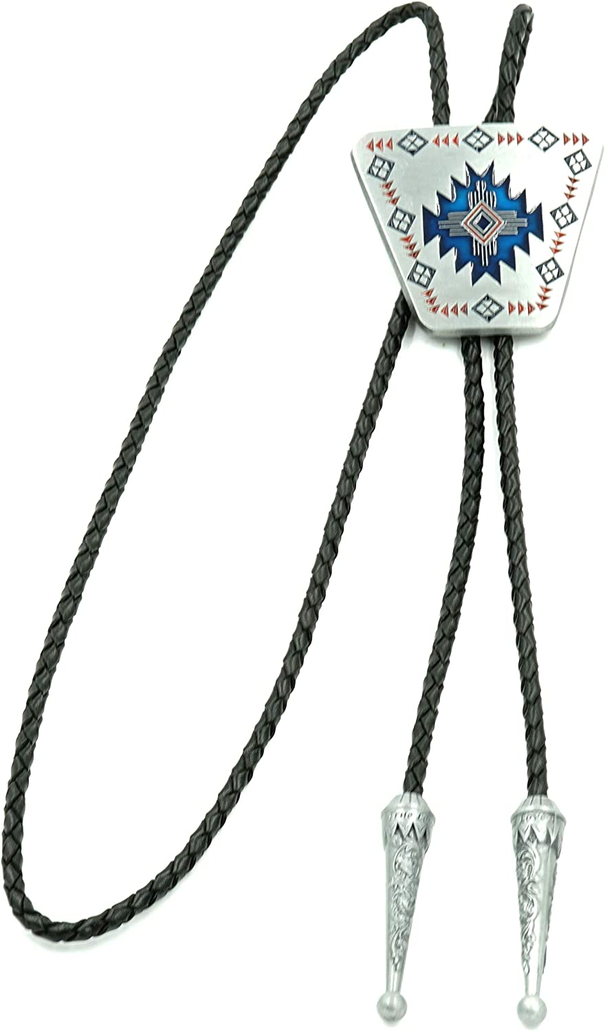 Popular shop is Houston Mall the lowest price challenge Native American Southwest Enamel Western Tie Bolo Leather Neck