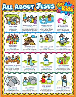 Carson Dellosa Christian All About Jesus for Kids Chart (6361)