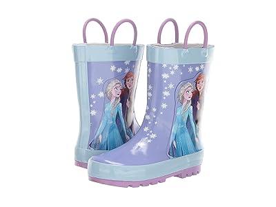 Josmo Kids Frozen Rain Boots (Toddler/Little Kid) (Blue) Girls Shoes