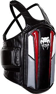 "Venum ""Elite Body Protector, Black/Ice/Red"