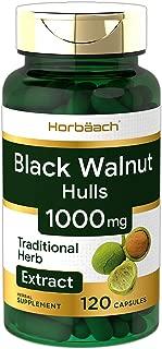 Black Walnut Hulls   1000 mg   120 Capsules   Non-GMO & Gluten Free   by Horbaach