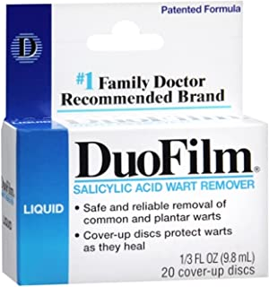 DuoFilm Wart Remover Liquid 0.33 oz (Pack of 2)