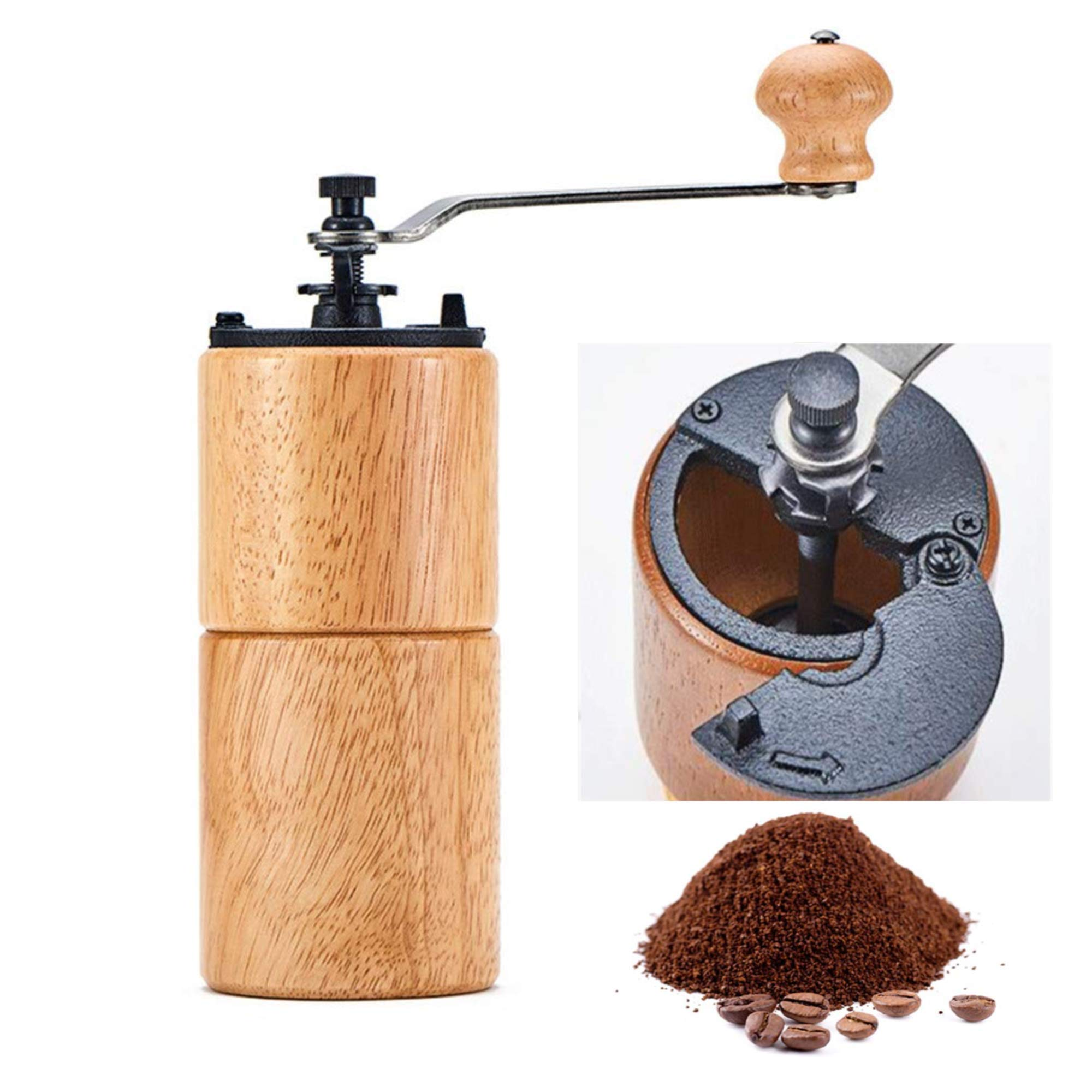 Akirakoki Manual Coffee Bean Grinder