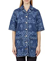 Laser Denim Vacation Shirt