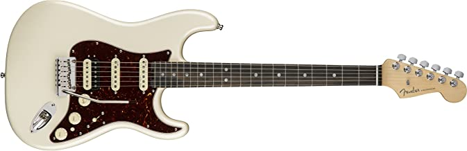 Fender American Elite Stratocaster HSS Shawbucker - Olympic Pearl with Ebony Fingerboard