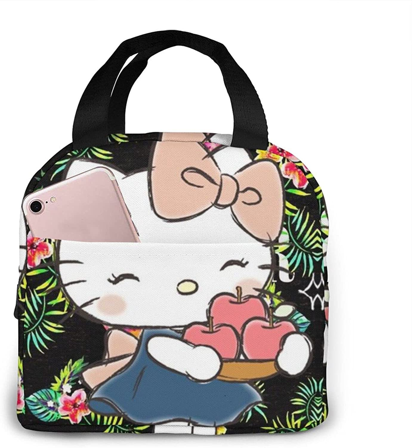 Hello Kitty Lunch Bag Tote Bag Insulated Lunch Box