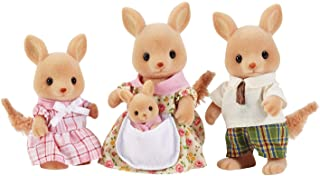 Calico Critters, Hopper Kangaroo Family, Dolls, Dollhouse Figures, Collectible Toys