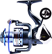 GOLD SHARKING Ultra Smooth Powerful Spinning Fishing Reel for Saltwater Freshwater 14 Corrosion Resistant Bearings Left Right Interchangeable Lightweight