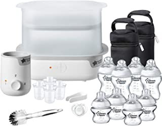 Tommee Tippee Closer to Nature Complete Feeding Kit, White