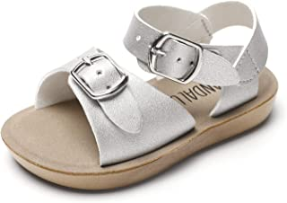 Summer Sandals w Double Buckle for Toddler Girls/Boys