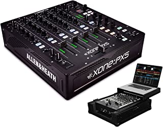 Allen & Heath Xone:PX5 4+1 Channel DJ Mixer +Odyssey FZGS12MX1BL Glide Case