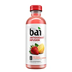 Bai Sao Paulo Strawberry Lemonade, Antioxidant Infused Beverage, 18 ounce bottle