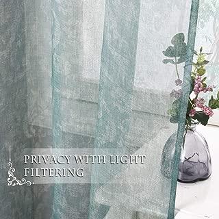 NICETOWN Premium Semi Sheer Curtains - 84
